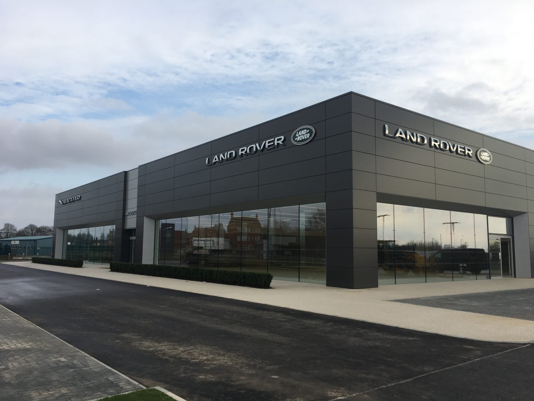 JLR Project almost complete