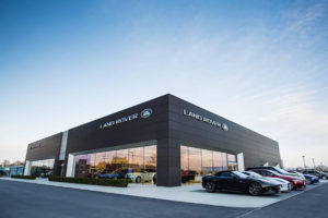 Duckworth Land Rover Showroom