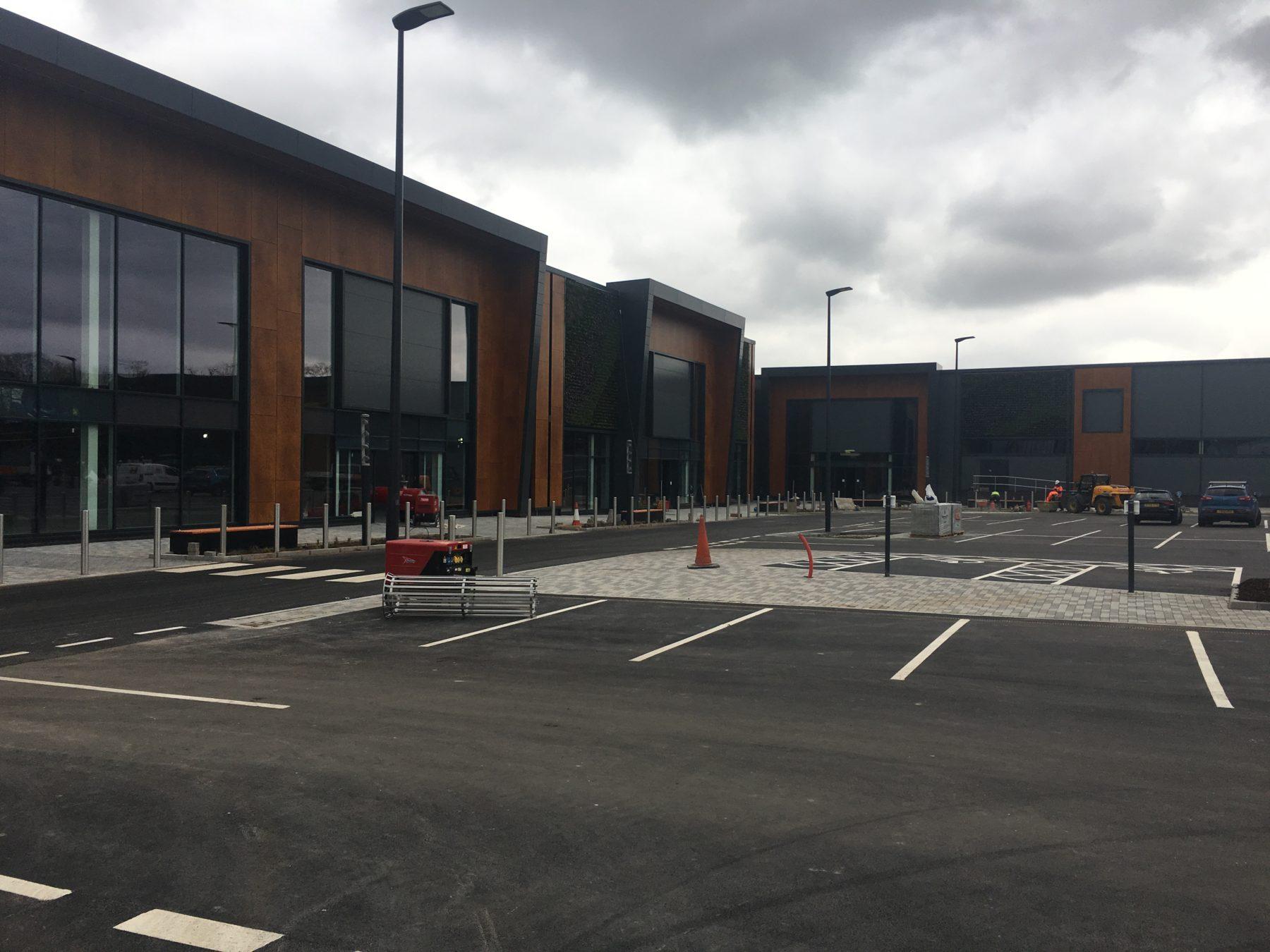 Sheffield Retail Park Solar PV