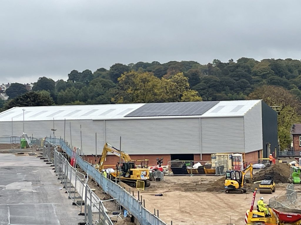 SOLAR PV goes on at Chesterfield Project